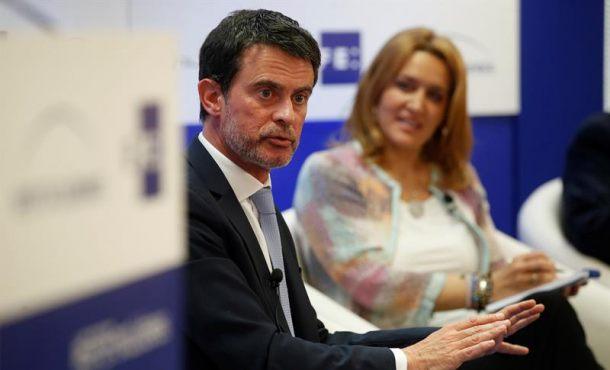 """Valls: La llave en Cataluña """"no puede ser separatismo, ir en contra de la Democracia y la Ley"""""""