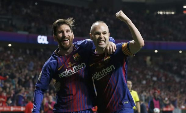 FC Barcelona golea 5-0 al Sevilla y se proclama campeón de Copa por trigésima vez