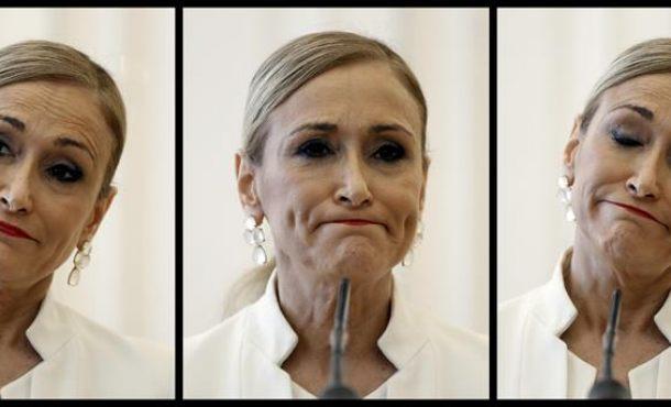 """Cifuentes al PP: No me voy, seguiré """"como presidenta del PP en Madrid"""""""