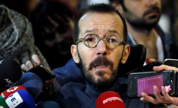 """Podemos: La """"convención al PP"""" es para """"proteger a sus mentirosos y corruptos"""""""