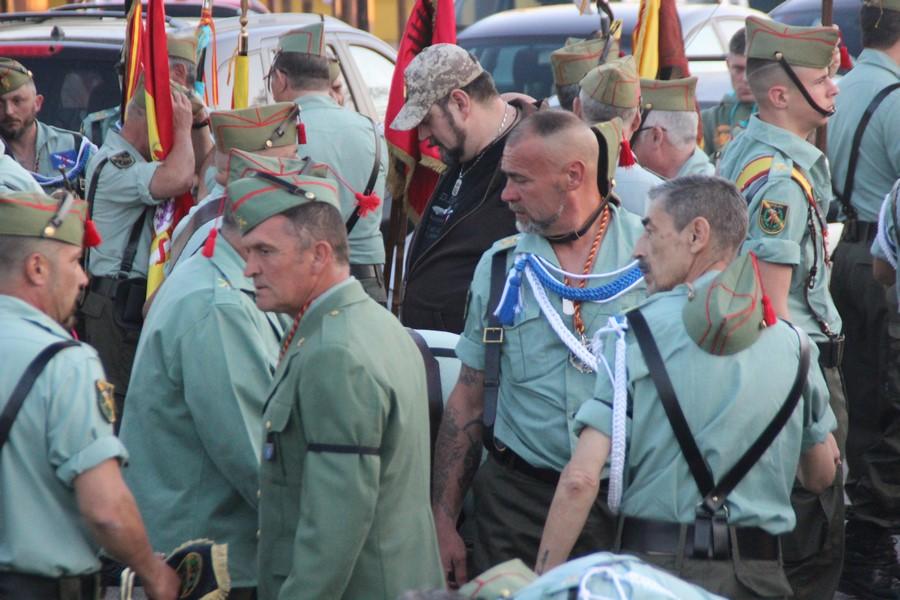 El mando de La Legión en Cataluña garantiza la presencia de legionarios en Palafolls 2019