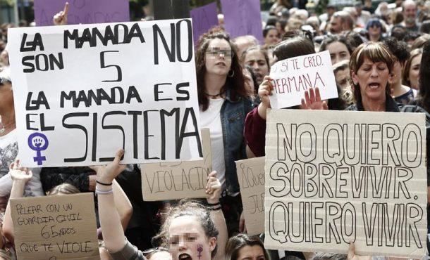 Los jueces ven desproporcionada la respuesta contra la sentencia de La Manada