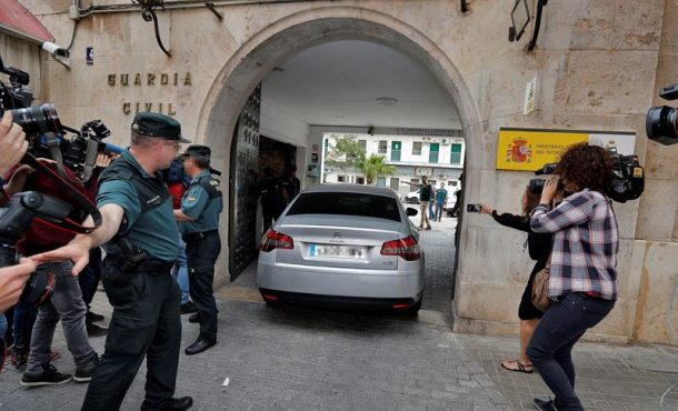 La Fiscalía pide prisión sin fianza para el detenido Zaplana (PP)