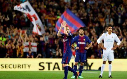 Don Andrés Iniesta, su adiós y lesión tras 22 años en el FC Barcelona