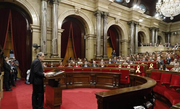 El primer nazi investido presidente de Cataluña con la abstención de la Izquierda (CUP)