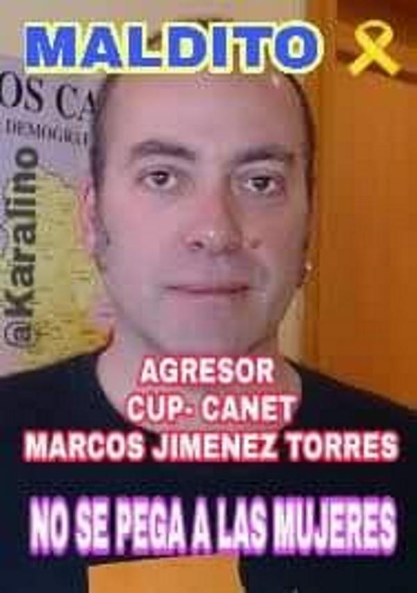 Difunden la foto del neonazi Marc Jimenez Torres (CUP), agresor de españolas en Cataluña