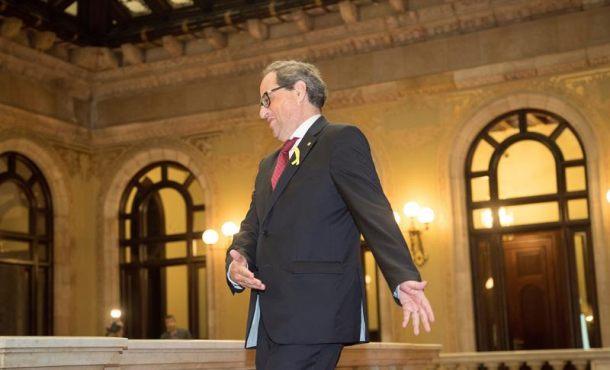 Torra, presidente de pocos sin Gobierno