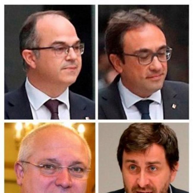 Primer aviso contundente de Torra a Rajoy, vuelven los exconsejeros huidos y en prisión
