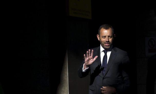 """El preso expresidente del FC Barcelona Sandro Rosell: """"En ningún caso me voy a fugar"""""""