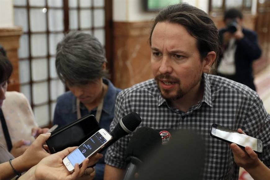 "Iglesias: La censura a Rajoy ""va a salir"""