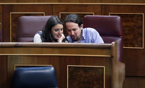 Iglesias es padre, Irene Montero da a luz en un hospital madrileño a los 6 meses de embarazo