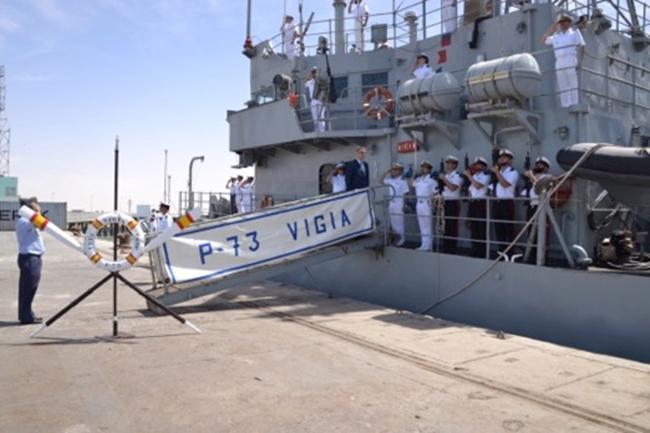 «Vigía» de la Armada atracará en Barcelona y abierto al público hasta el 27 de Mayo