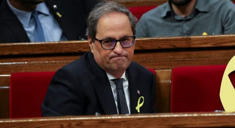 """Torra pide reunión con Rajoy para """"construir un país mejor para millones de catalanes"""""""