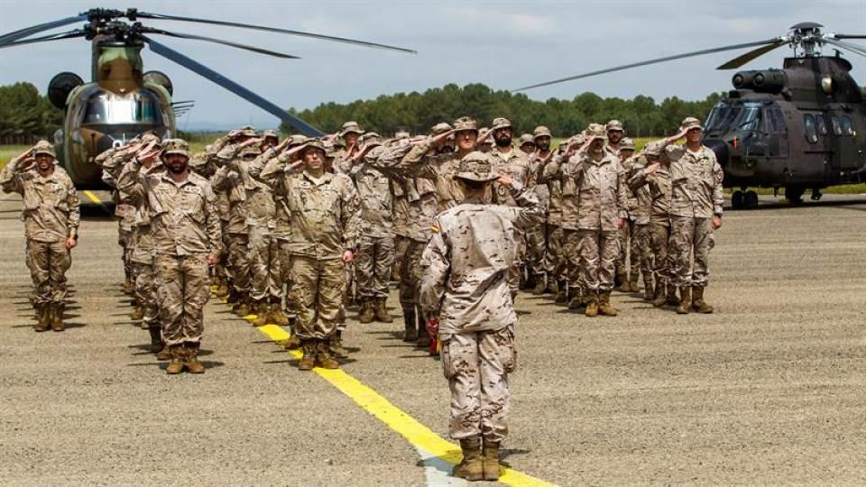 Llega a Irak el Ejército español contra el Daesh