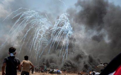 Ascienden a 60 los muertos en Gaza en las protestas contra la Embajada de EE.UU. a Jerusalén