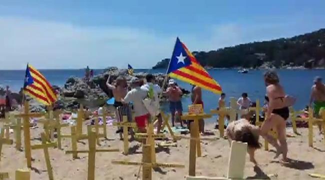 Esquizofrenia independentista en las Playas de Gerona