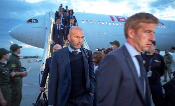 El Real Madrid llega a Kiev, final Liga de Campeones