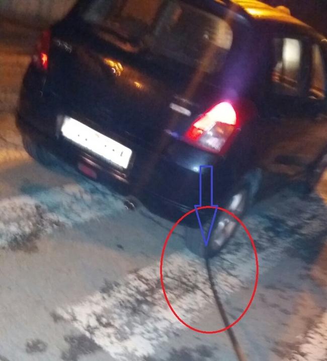 Una independentista ataca con coche a los españoles en La Batlloria (San Celoni) Barcelona