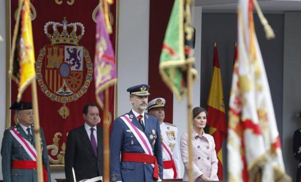 Los Reyes presiden el acto central del Día Fuerzas Armadas en Logroño