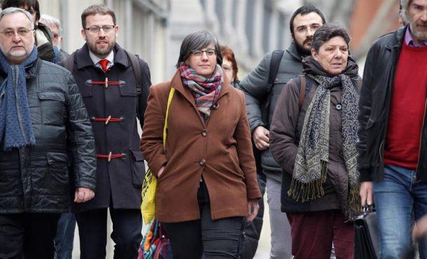 Medio independentismo hoy ante la Justicia para conocer su procesamiento por golpista