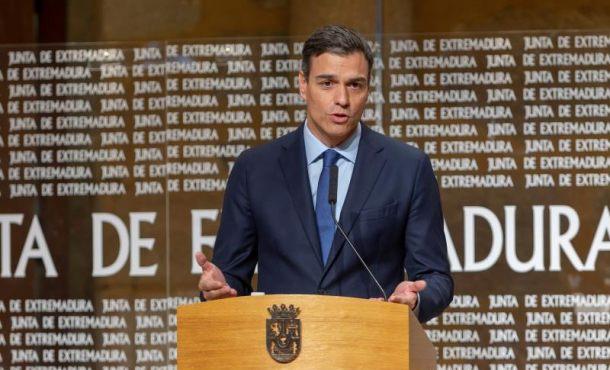 """Pedro Sánchez (PSOE): Quim Torra es un """"xenófobo y racista"""""""