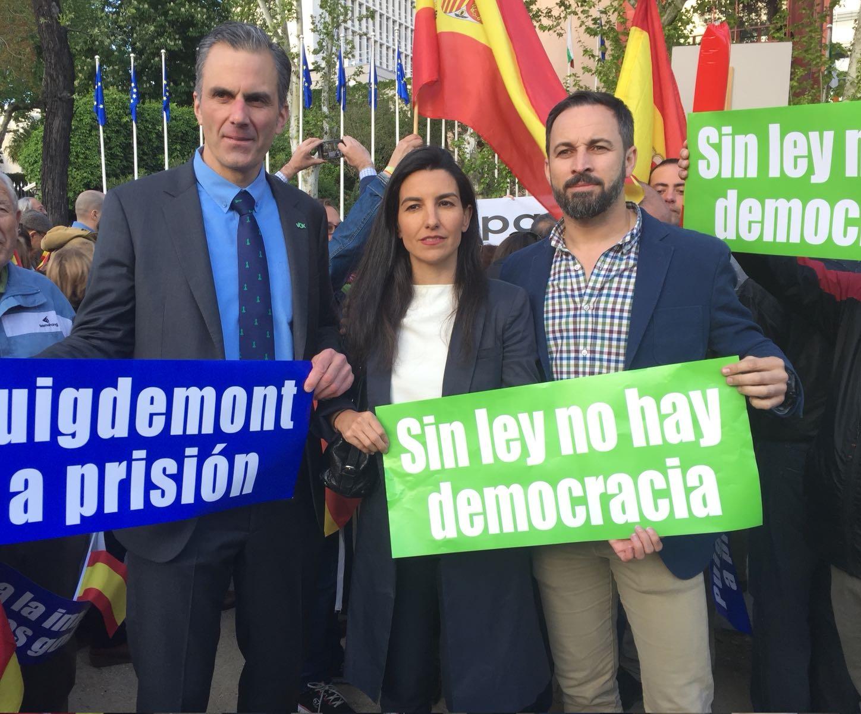"Abascal: ""No seremos obstáculo para un cambio político en Andalucía"""