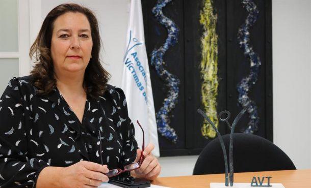 Maite Araluce, nueva presidenta de la «Asociación Víctimas del Terrorismo» (AVT)