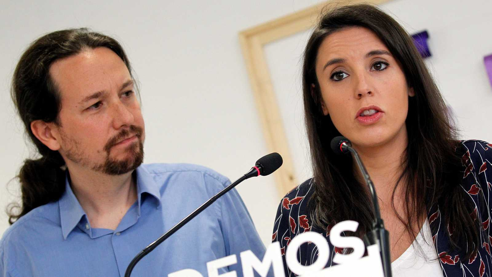 """Iglesias e Irene: """"Si la militancia nos dicen que hemos de dimitir (por el chalé), dimitiremos"""""""