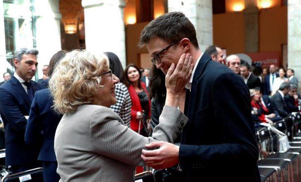 "Errejón (Podemos) tacha a Ciudadanos de ""sectario"" ante la ""grave crisis moral"" en Madrid"