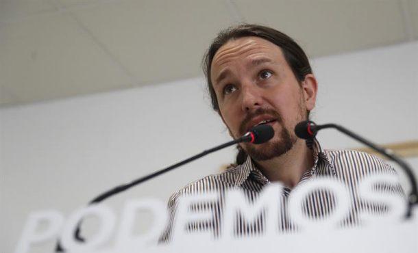 """Iglesias: Podemos apoyará la moción del PSOE """"para desalojar al PP del Gobierno"""""""