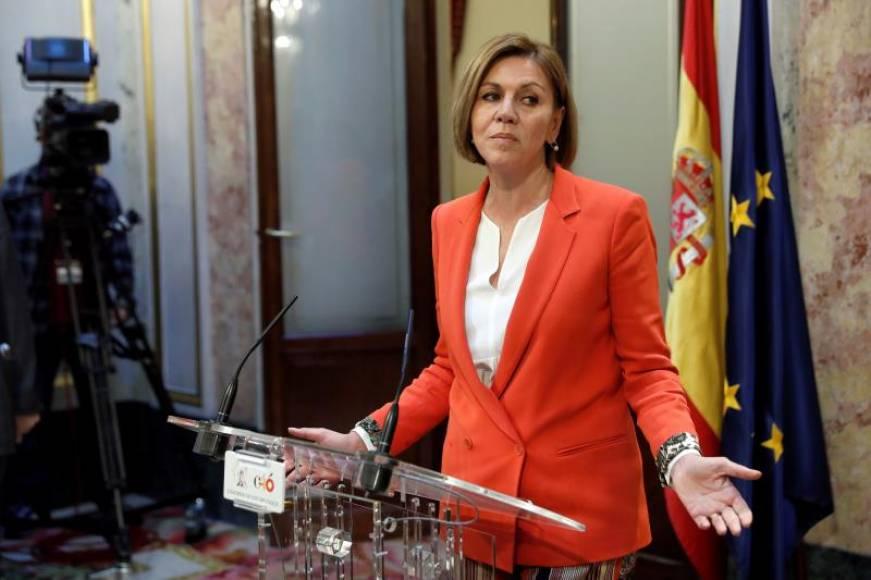 """La secretaria del PP: """"Rajoy no debe dimitir"""""""