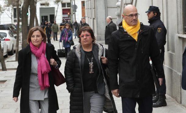 Permanecerán en prisión, los políticos presos 'indepes' Forcadell y compañías