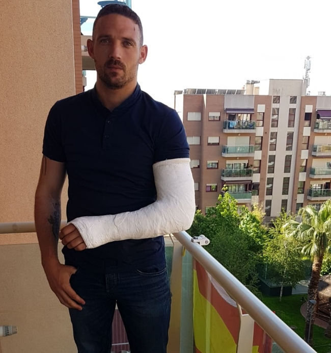 El español Jaime Vizern, herido durante una escalada en San Martín de Tous (Barcelona)
