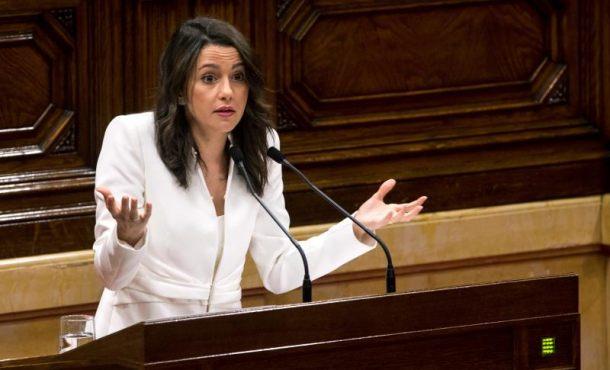 """Arrimadas al nazi Quim Torra: """"Usted no ha venido a dirigir un gobierno sino un CDR"""""""