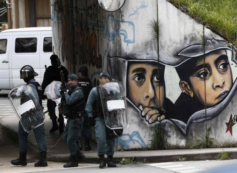 Agresión a Guardias Civiles y sus mujeres por independentistas en Alsasua, 2 años después