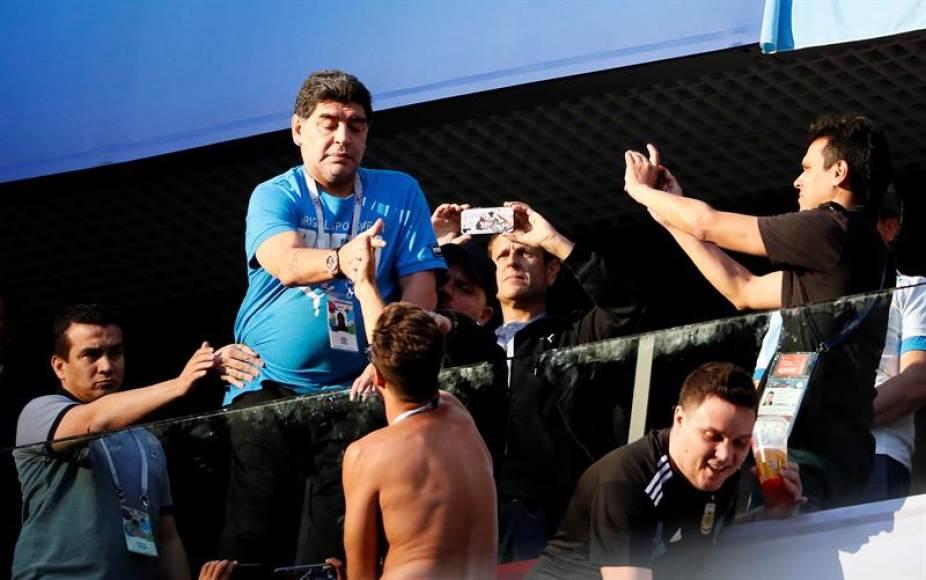 Maradona insinúa que consumió cocaína por otras vías antes del partido Nigeria-Argentina