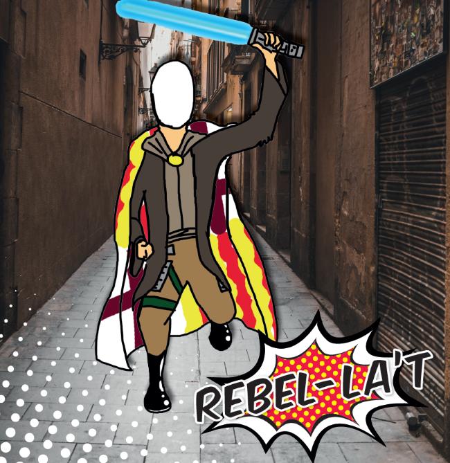 """Jóvenes españoles llaman a la lucha con un Comic sobre las """"mentiras"""" independentistas"""