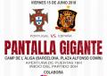 Pantalla gigante para ver a la Selección en Barcelona con entrada gratuita, rumba y flamenco