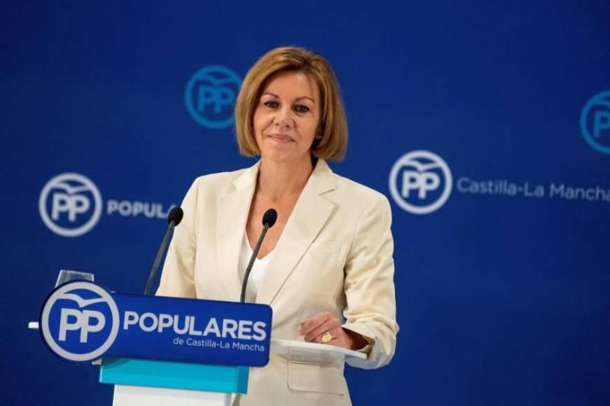 Cospedal, candidata a liderar el PP y pronto renunciará a la Secretaria General