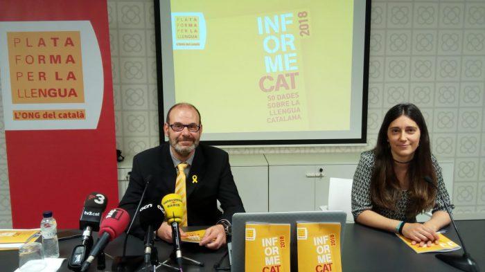 Más de 300 mil personas han dejado de hablar el catalán en los últimos años