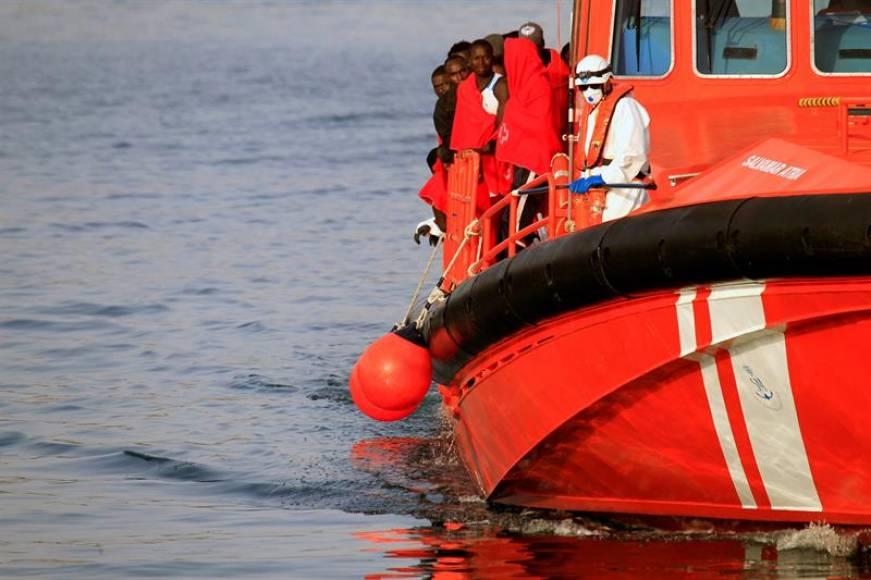 Mil inmigrantes rescatados este fin de semana en las costas españolas después del Aquarius