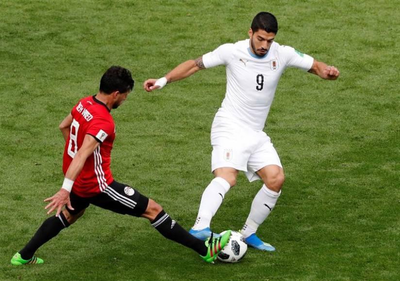 (Rusia 2018) Egipto y Uruguay empatan sin goles al descanso