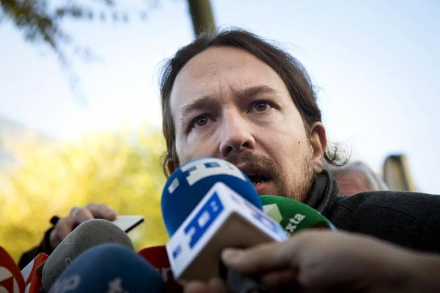 """Pablo Iglesias muestra su apoyo a los presos separatistas los """"Jordis"""" en Soto del Real"""
