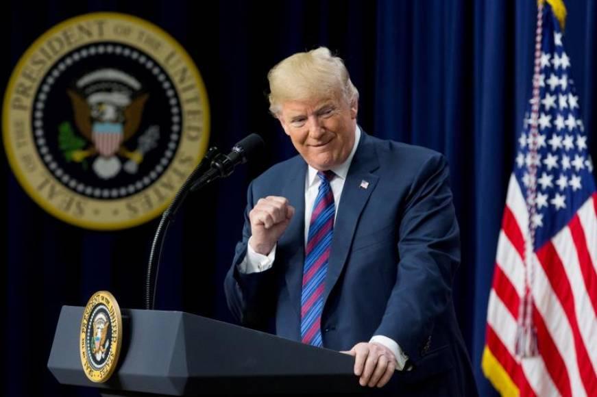 Trump recibe al Rey de España en la Casa Blanca