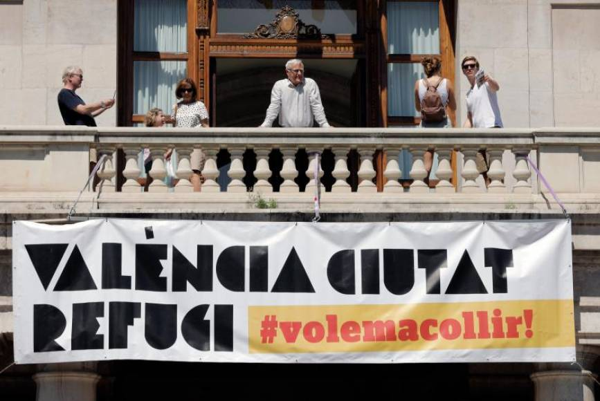 Ayuntamiento de Valencia: Queremos acoger a todos los inmigrantes del mundo