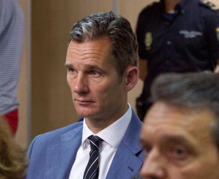 El Tribunal Supremo envía a prisión al marido de la Infanta Cristina, Iñaki Urdangarin
