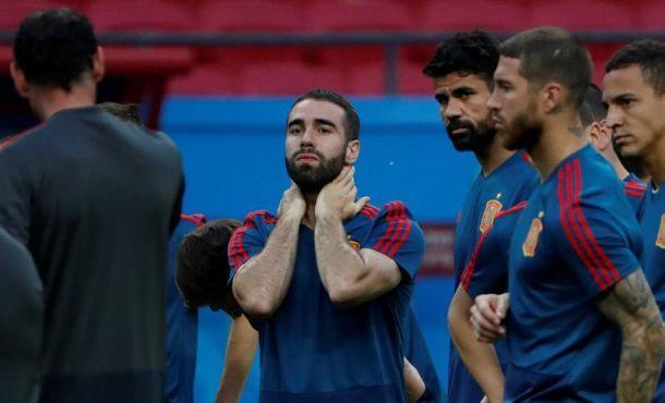 (Mundial 2018) Carvajal y Lucas Vázquez novedades de España ante Irán