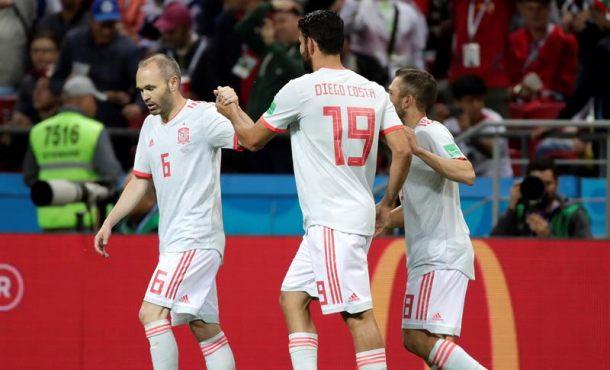 Diego Costa y el 'otro' estilo de España, colocan a la selección líder del Grupo de Rusia 2018