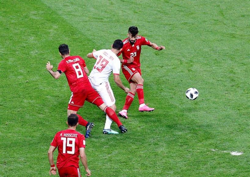 España y el fútbol castiga a Irán (0-1)