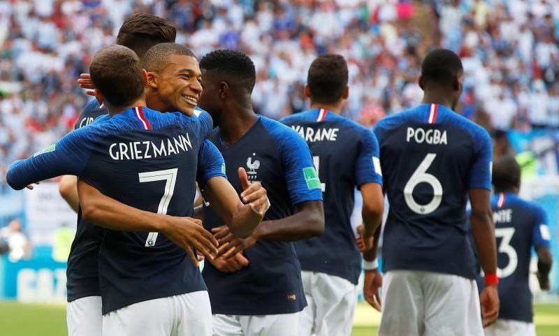 Mbappé arrolla a Argentina y mete a Francia en cuartos de finales de Rusia 2018